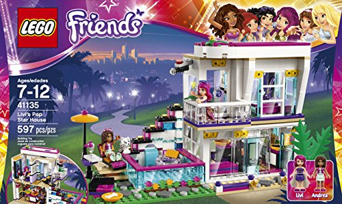 LEGO Friends Livi's Pop Star House 41135: Amazon.com.au: Toys & Games