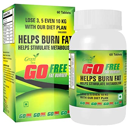 Gofree Fat Burner Weight Loss Supplement With Green Tea Extract