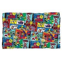 Pattern -- Power Rangers -- Fleece Throw Blanket