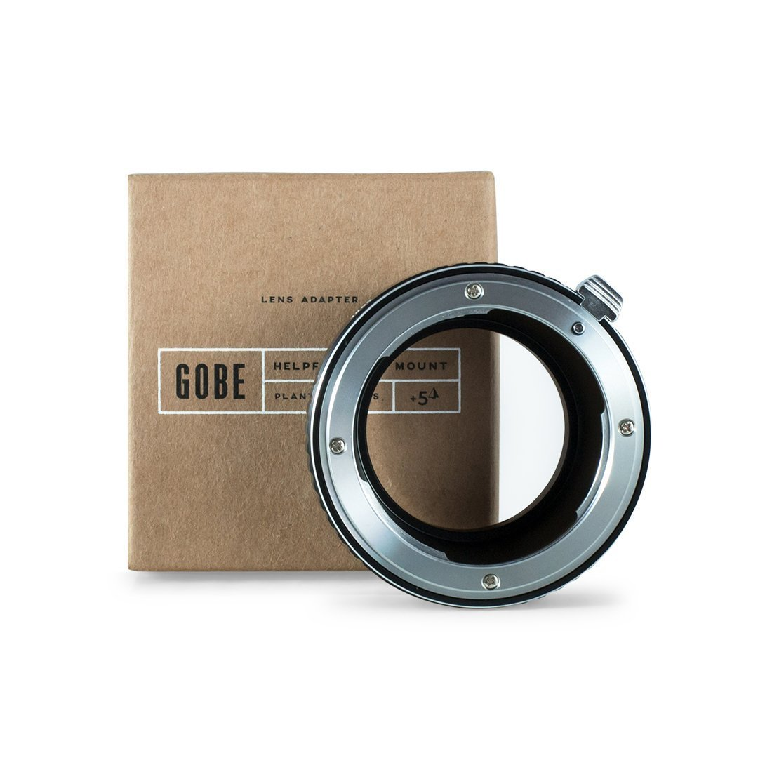 Gobe Lens Adapter: Compatible with Canon EOS (EF/EF-S) Lens and Fujifilm X-mount Camera Body LAMF-EF-X