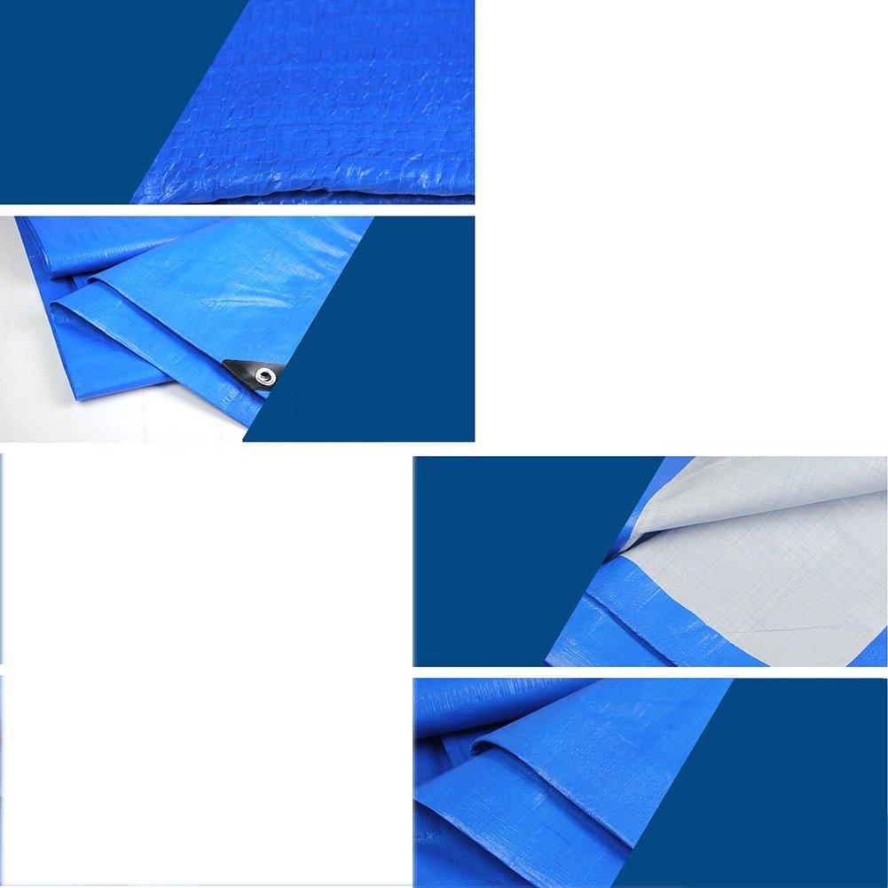 LQQGXL Plane aufgefüllter regendichter Sonnenschutzplanen-LKW, der staubdichten winddichten Plastikstoff blau blau blau errichtet Wasserdichte Plane B07J6T1ZS6 Zeltplanen Bevorzugte Boutique 6900e2