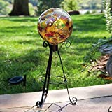 Gold Mosaic Gazing Ball