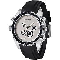 Opta SW-009 Fiberglass Heart Rate Monitor Smart Watch, Medium (Black)