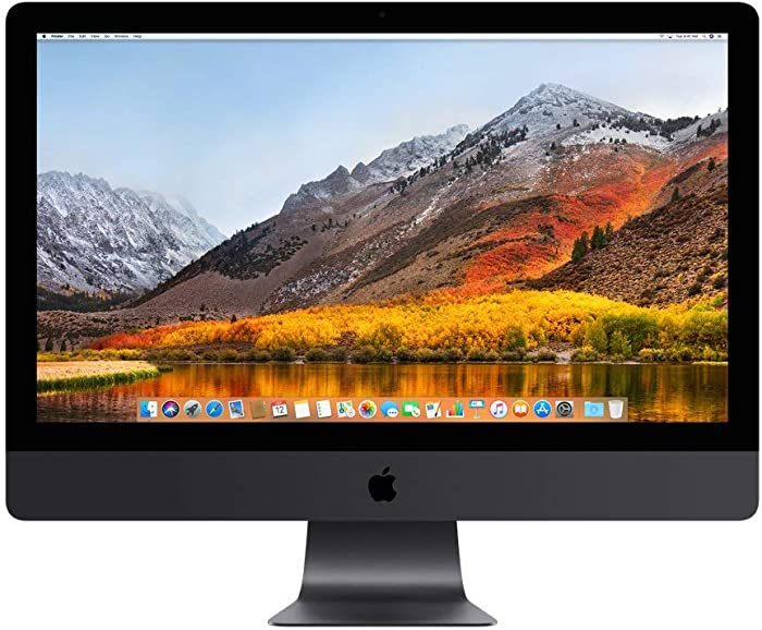 Apple iMac Pro 27in All-in-One Desktop, Space Gray (MQ2Y2LL/A) (Renewed)