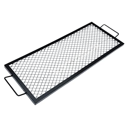 onlyfire Rectangle X-Marks Fire Pit Cooking Grate, 44-Inch - Amazon.com : Onlyfire Rectangle X-Marks Fire Pit Cooking Grate, 44