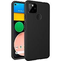 EasyAcc Etui do Google Pixel 4a 5G, czarne etui TPU etui na telefon matowe wykończenie wąski profil telefon kompatybilny…