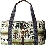 Vivienne Westwood Unisex Africa Army Holdall Painted One Size