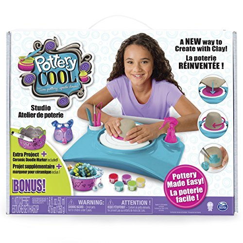 Exclusive Pottery Cool Studio Set Bonus Extra Project Clay Kids Craft Kit