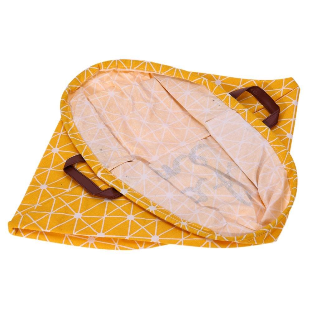 gelb Globeagle Reinigungstuch Schmutzige Kleidung Organizer Barrel W?schekorb Aufbewahrung Zuhause