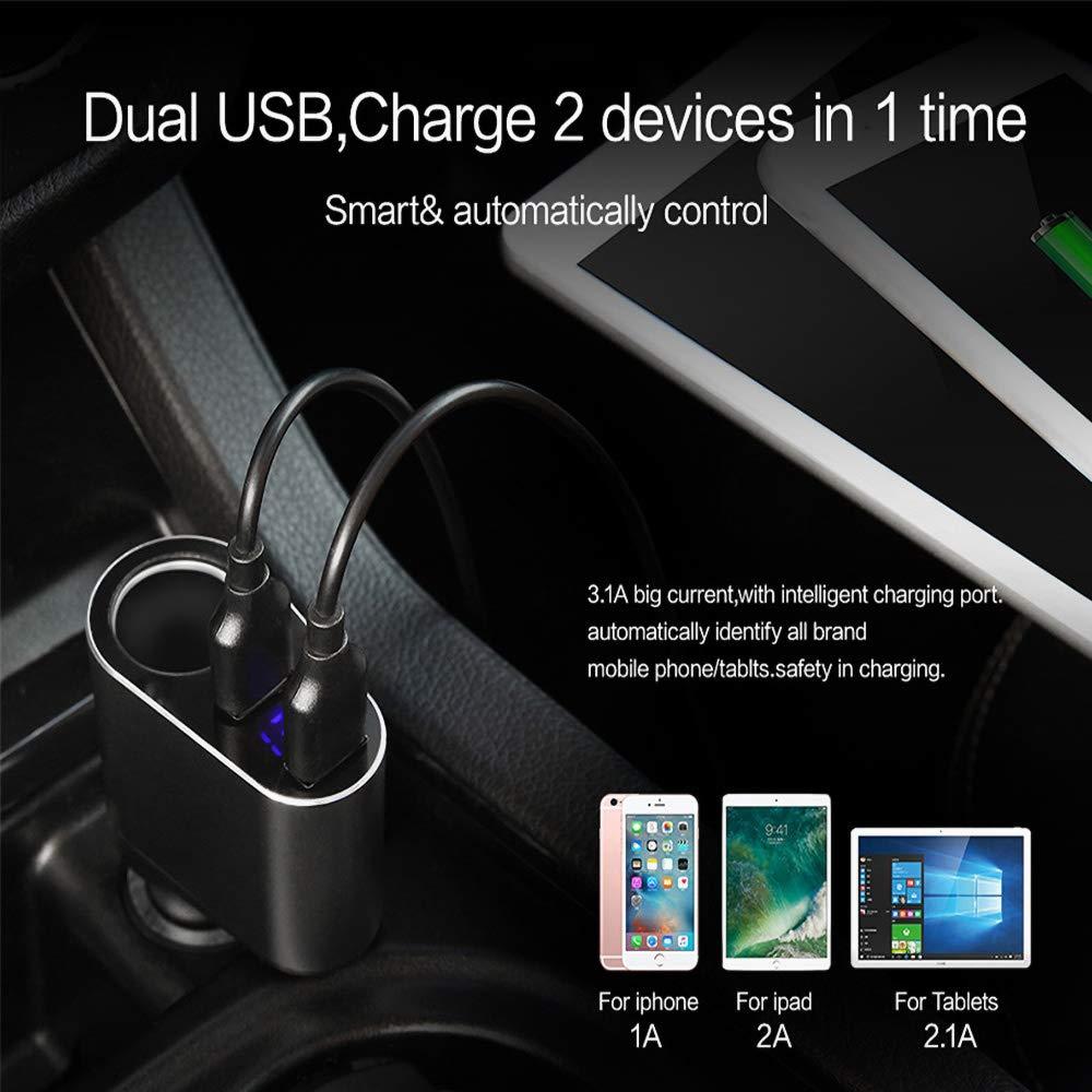 Amazon.com: Liuliangmei Universal Dual USB Car Charger for ...