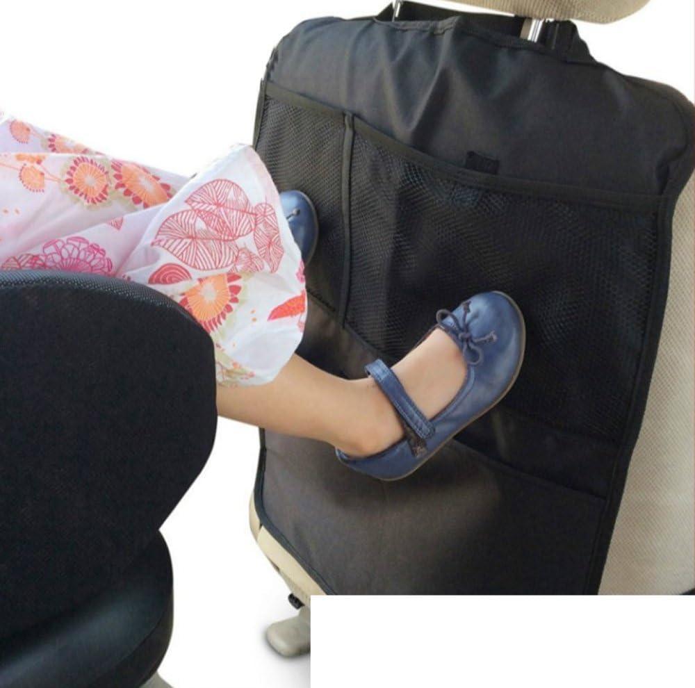 design61/Kick Tapis voiture Organiseur Enfant Sac Voiture Si/ège arri/ère pour dossier Si/ège arri/ère Prot/ège Si/ège auto Tapis de protection Ustensiles Sac avec 2/poches filet 1/Stck.