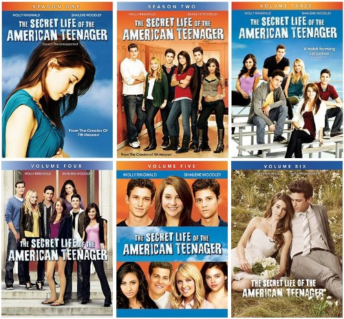 The Secret Life of the American Teenager: Volumes 1-6 (Abc The Secret Life Of The American Teenager)