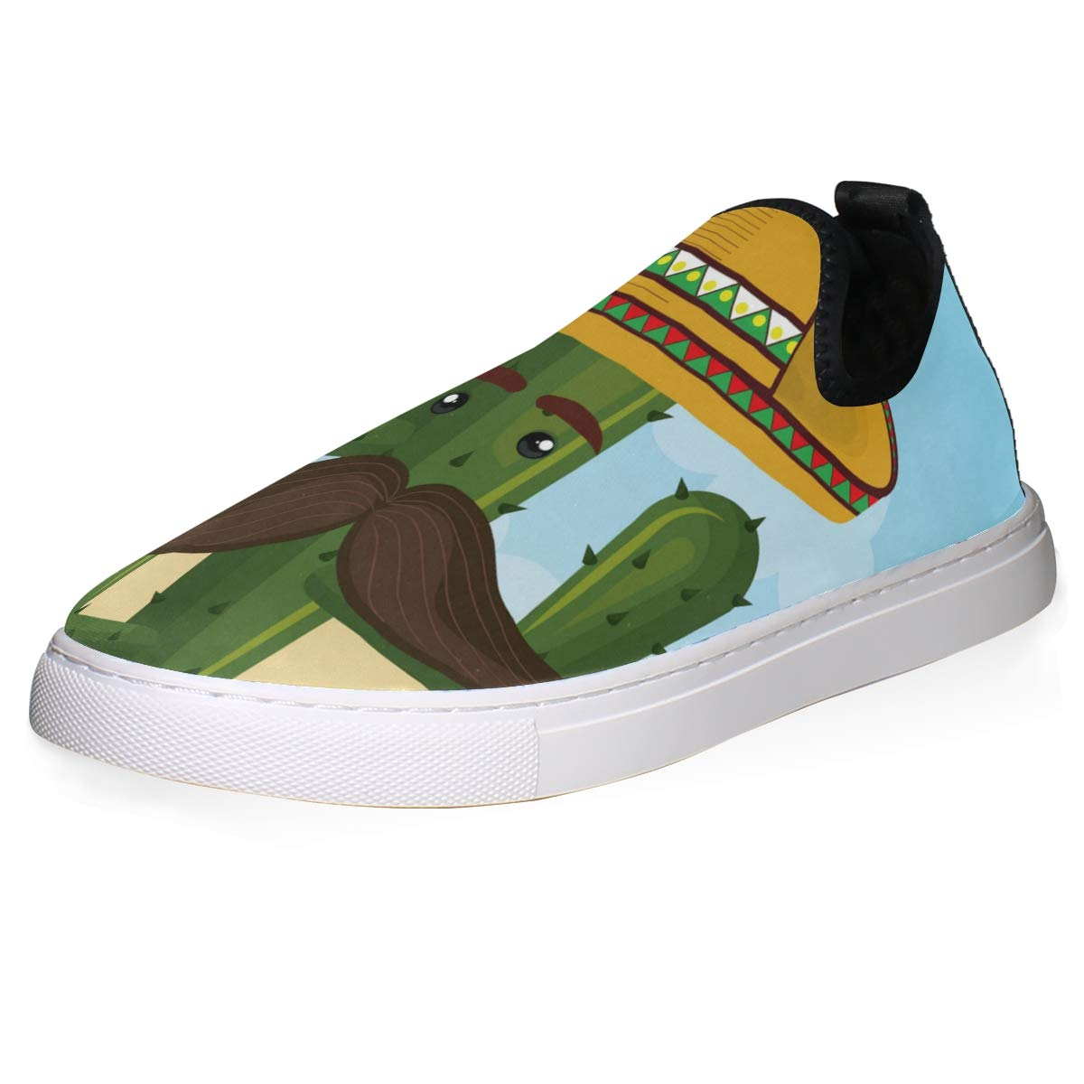 FANTAZIO Cactus Character with Mexican Hat Go Walk ...