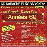 "CD Karaoké Play-Back KPM Vol.38 ""Tubes Années 60 Au Masculin"""