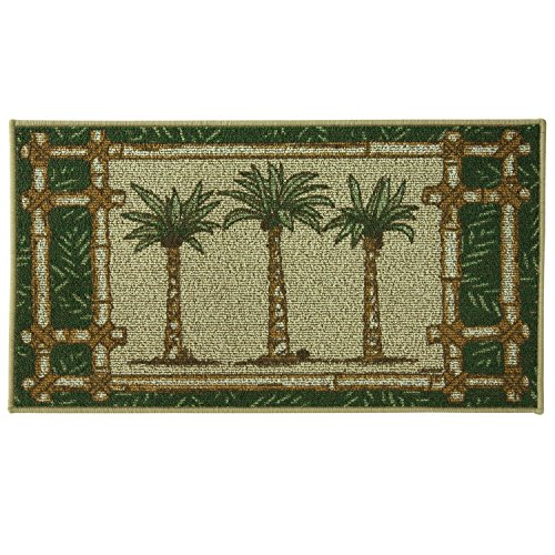 (Bacova Guild Classic Berber Skid-Resistant Accent Rug, Oasis, 40