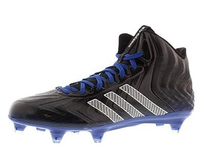 wholesale dealer c8b92 e02d7 adidas Crazyquick Mid D Mens Football Cleats 10.5 Black-White-Royal