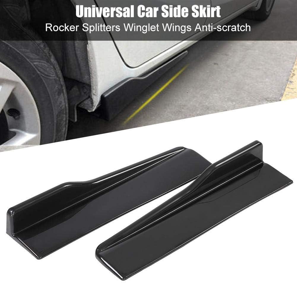 KIMISS 1 par de Cubiertas de universal para Falda lateral para el autom/óvil Corto Protector de chasis antirayas del Coche