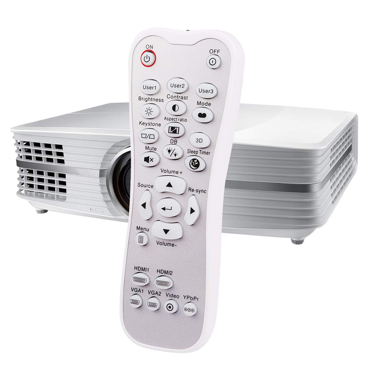 BR-3003B SP.8ZE01GC01 Mando a Distancia para Optoma UHD60 HD141X ...
