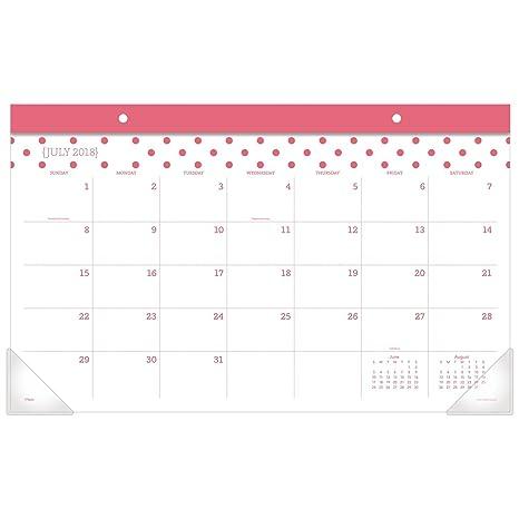 Amazon.com: Mead académico calendario mensual de almohadilla ...