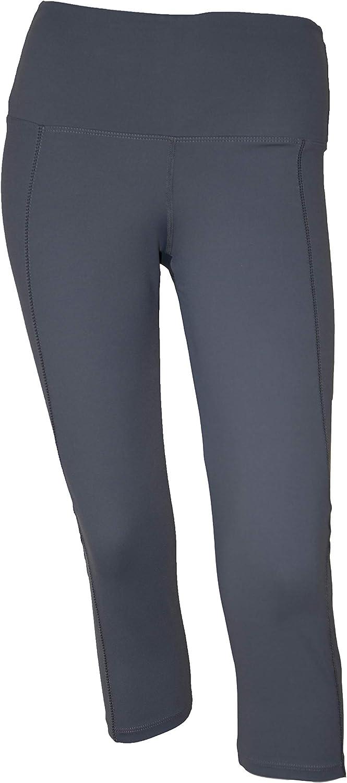 Private Island Women UPF 50+ Beach Capri Shorts Pants Swimsuit Pocket Bathing Swim Rash Guard Bottom: Clothing