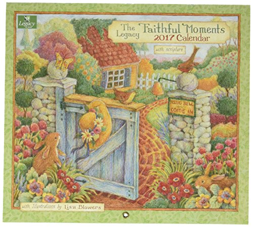 Legacy Publishing Group 2017 Wall Calendar, Faithful Moments