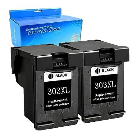 Teng® 303XL Reacondicionado para HP 303XL 303 para Impresora ...