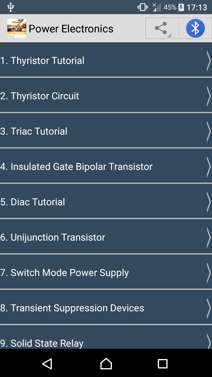 Learn Power Electronics Ebook Appstore For Android Ujt Uni Junction Transistors 000