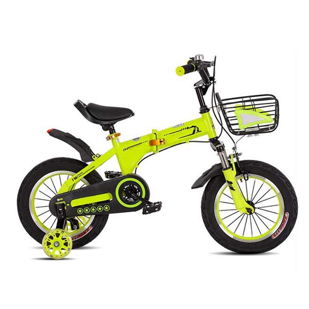 注目ブランド YUMEIGE 子ども用自転車 12in キッズバイク子供用自転車12/14/ 16/18インチ男の子と女の子用、29歳の子供に最適 12in)/、ブルーイエローピンク 利用できるサイズ (色 : 緑, サイズ さいず : 12in) 12in 緑 B07QJVYZJL, 大泉町:eeb42daf --- mail.mrplusfm.net