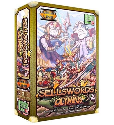 Level 99 Games Sellswords: Olympus Board Games