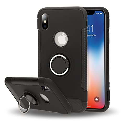 iphone x custodia anello