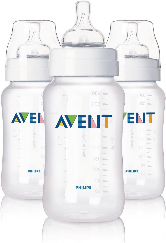 Philips AVENT - Kit de 3 biberones 330 ml (SCF686/37): Amazon.es: Bebé