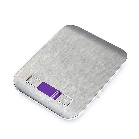 Báscula de Cocina Webat CF01 Multifunción Báscula digital de cocina con colgador - Acero inoxidable retroiluminado