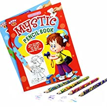 COI ART AND CRAFT COMBO 2 MYSTIC PENCIL BOOKS AND MAGIC COLOUR CHANGING PENCILS FOR KIDS