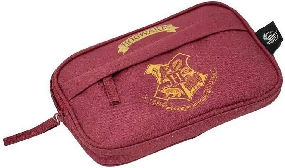 Burgundy - Estuche plano para lápices de Harry Potter: Amazon.es: Oficina y papelería