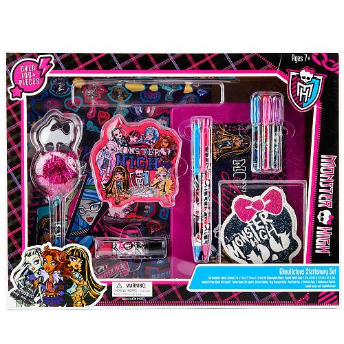 Monster High Ghoulicious Stationary Set product image