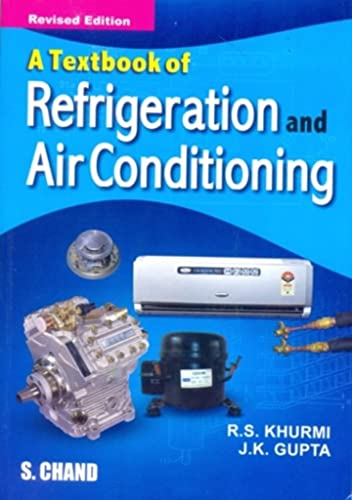 Textbook of Refrigeration and Air-conditioning (M.E.)