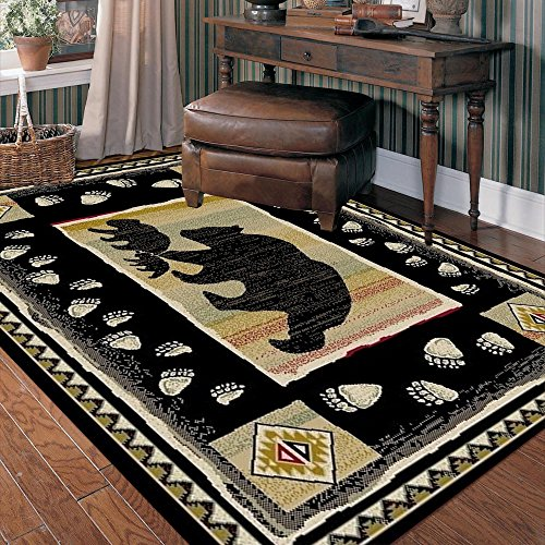 Rug Empire Take the Lead Rustic Lodge
