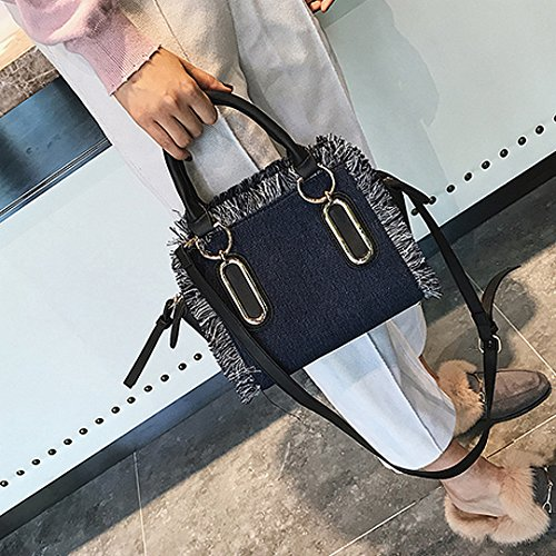 Meliya - Bolso mochila  para mujer azul claro