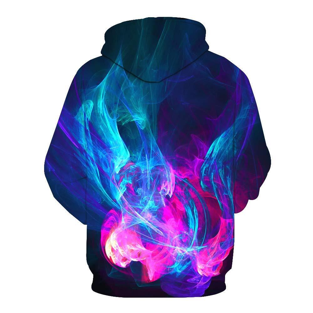 Usopu Mens//Womens 3D Color Graphics Print Hoodie