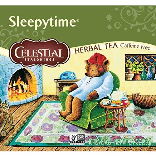 - Celestial Seasonings Herbal Tea, Sleepytime, 40 Count (Pack of 3)