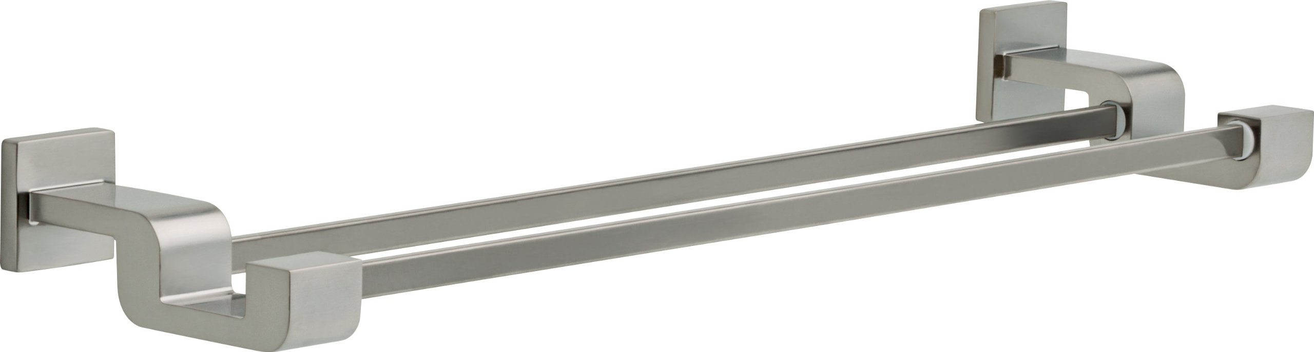Delta Faucet 77525-SS Ara 24inch Double Towel Bar Rack, Brilliance Stainless Steel