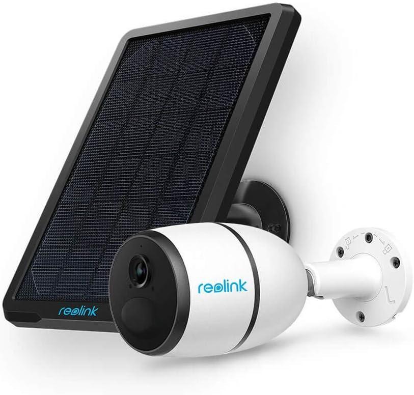 Reolink Go avec Panneau Solaire, Caméra Surveillance 4G/3G LTE Extérieure sans Fil,...