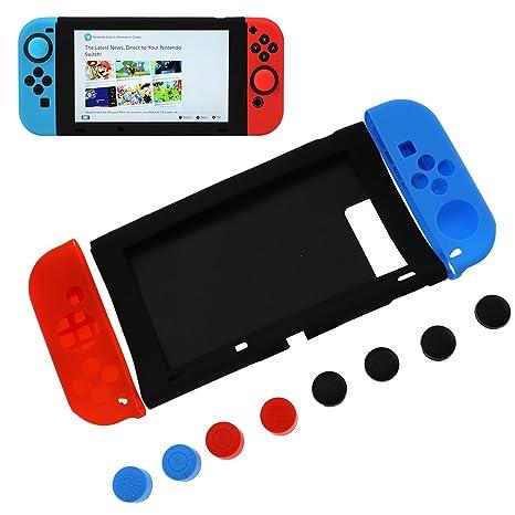SING F LTD - Carcasa de Silicona para Nintendo Switch ...