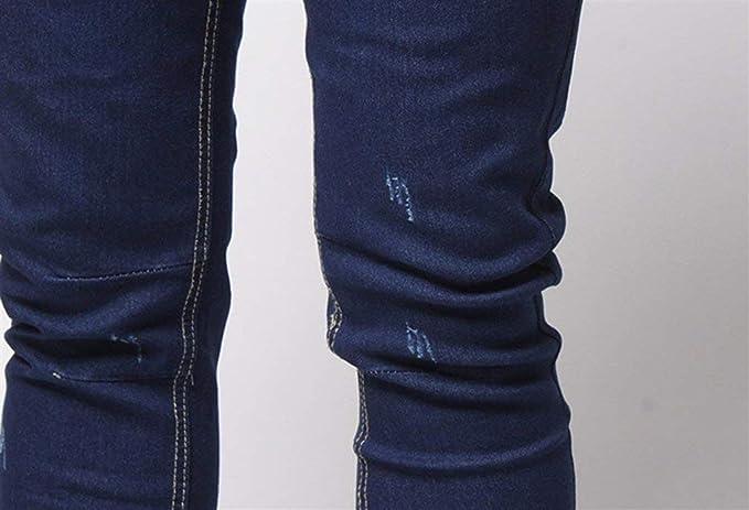 Denim Pants R Cintura Elástica Los Cómoda De Hombres Skinny ...