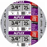 Southwire 55082321 25-Feet 3/4-Inch Alflex-Type RWA Reduced Wall Aluminum Flexible Metal Conduit by Southwire