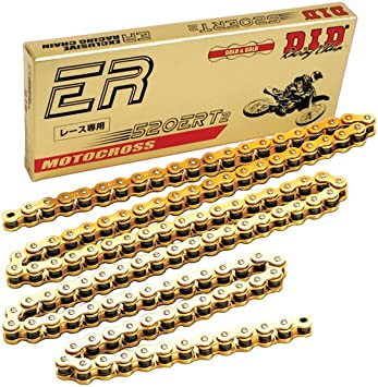 RK Racing Chain M530HD-120 530 Series 120-Links Standard Non O-Ring Chain with Connecting Link