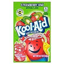 Kool-Aid Drink Mix, Unsweetened, Strawberry Kiwi, 0.17 oz (Pack of 192)