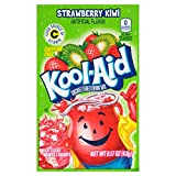 Kool-Aid Flavored Drink Mix, Unsweetened Strawberry Kiwi, 0.17 Ounce Packets (Pack of 192)