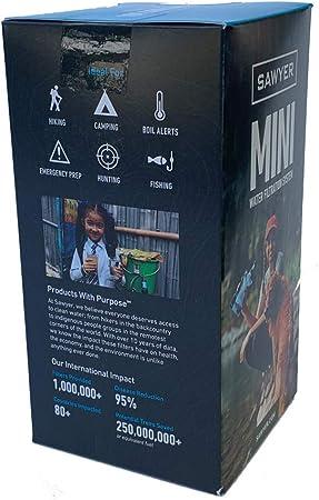 SAWYER Sistema de Filtro Products Mini portátil.: Amazon.es: Deportes y aire libre