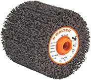 Walter FX Linear Finishing Abrasive Drum - Coarse Grit Finishing Drum with 5/8 in.–11 in. Arbor Hole. Abrasive